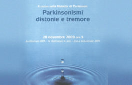 Parkinsonismi, distonie e tremore